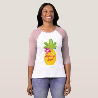 Matron of Honor Sweet Pineapple T-Shirt