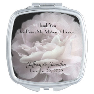 Matron of Honor Thank You Custom Compact Mirror