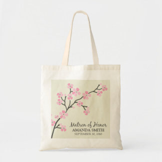Matron of Honor Wedding Party Gift Bag (pink)