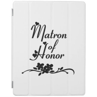 Matron Of Honor Weddings iPad Cover