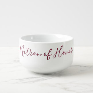 Matron of Honour Lovely Soup Mug
