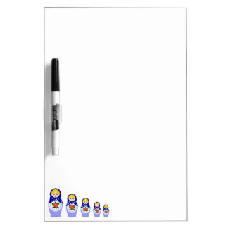 Matryoschka dolls dry erase board