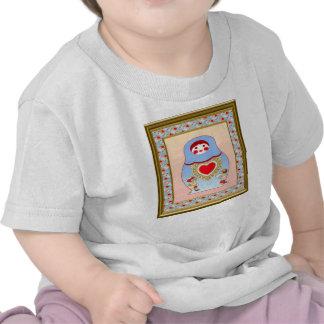 Matryosha kids love one another shirts
