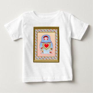 Matryosha kids love one another shirt