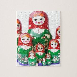 Matryoshka - матрёшка (Russian Dolls) Jigsaw Puzzles