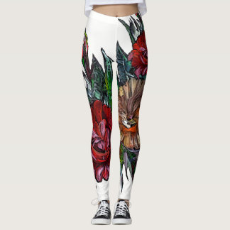 MATRYOSHKA COLLECTION , wearable ART Leggings