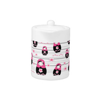 Matryoshka doll pattern
