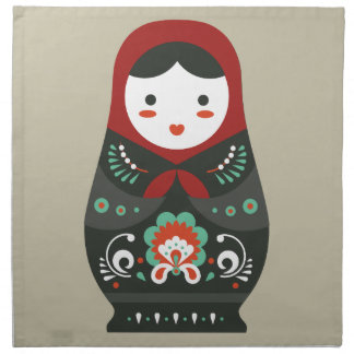 Matryoshka doll / Russian nesting/nested doll Napkin
