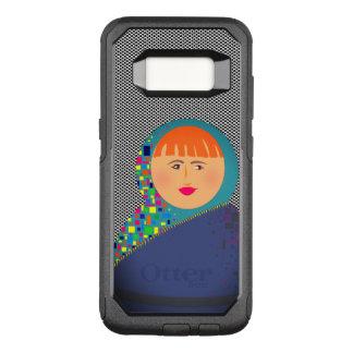 Matryoshka Russian Doll Cartoon Modern Hipster OtterBox Commuter Samsung Galaxy S8 Case