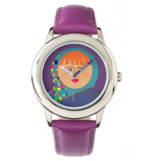 Matryoshka Russian Doll Modern Chic Cartoon Cool Watch