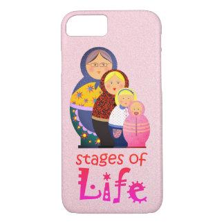 Matryoshka Russian Doll Women Mother Cartoon Life iPhone 8/7 Case