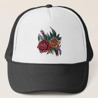 Matryoshka  Vibrant floral pattern Trucker Hat