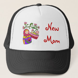 Matryoshka's Baby New Mom Trucker Hat