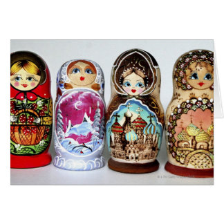 Matryoshkas Card