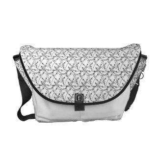 Matsubachirashi Japanese Pattern Messenger Bag