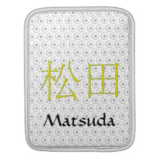 Matsuda Monogram Sleeves For iPads