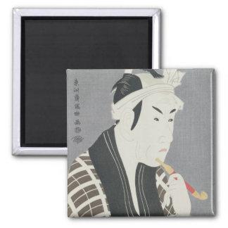 Matsumo Koshiro IV in the Role of Gorebei Square Magnet