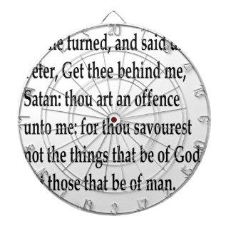 Matt. 16:23 dartboards