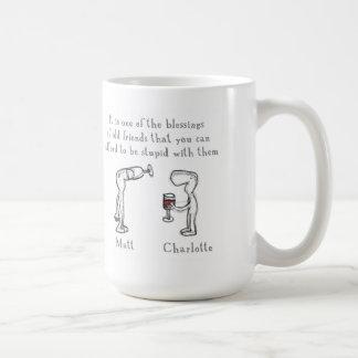 Matt and Charlotte Coffee Mug