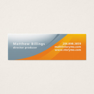Matt Billings Skinny Mini Business Card