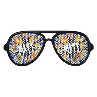 Matt Name Star Aviator Sunglasses