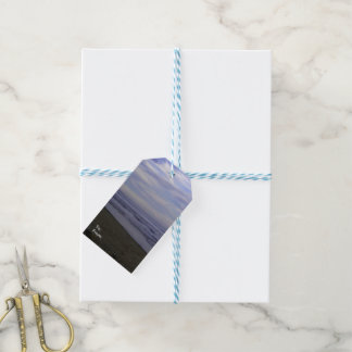 Matte Gift Tag PHOTOGRAPH OF BEACH