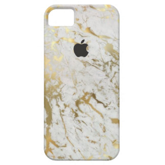 Matte Gold Marble iPhone 5 Case