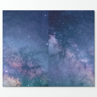 MATTE WRAPPING PAPER STAR CONSTELLATION