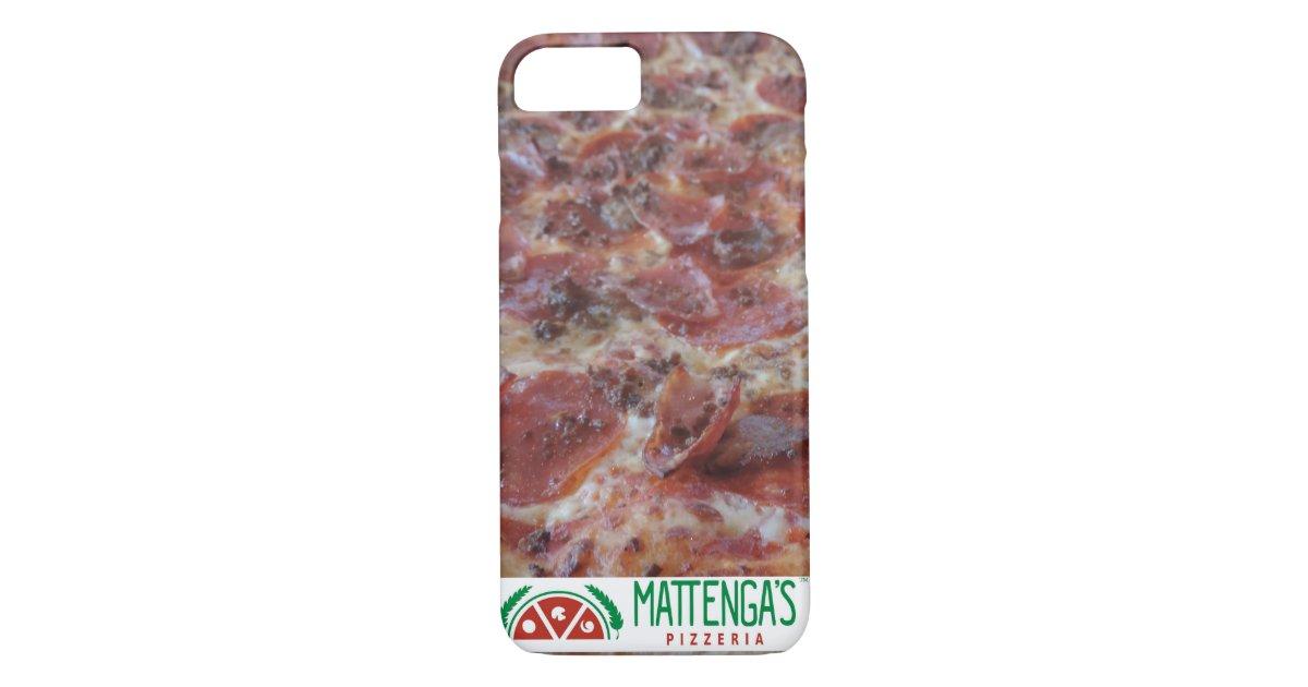 Mattenga 39 s molto meat pizza iphone 7 case zazzle for Case modulari molto compatte