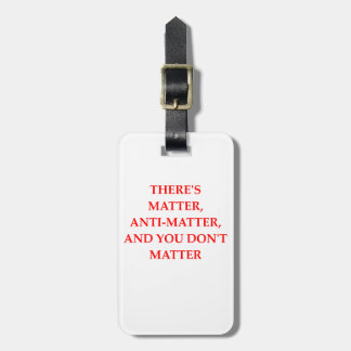MATTER LUGGAGE TAG