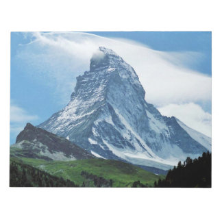 Matterhorn, Alps Notepad