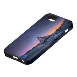 Matterhorn and Milky Way Galaxy Case For The iPhone 5