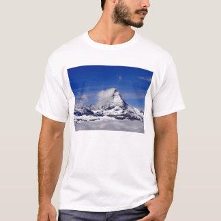 Matterhorn in a sea of cloud in Switzerland T-Shirt