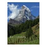 matterhorn in switzerland post cards