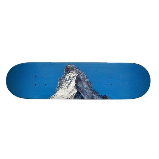 Matterhorn photo custom skate board
