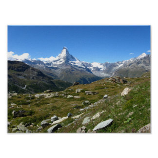 Matterhorn Swiss Alps Value Poster Paper (Matte)