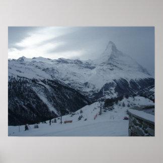 Matterhorn Twighlight Poster