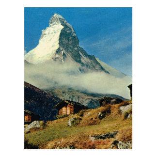 Matterhorn, Zermatt, Switzerland Postcard