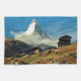Matterhorn, Zermatt, Switzerland Tea Towel