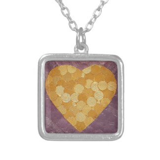 Matters of the Heart Silver Plated Necklace