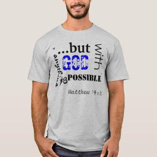 Matthew19:26 T-Shirt