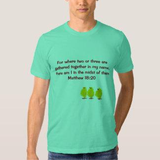 matthew 18:20 mens shirt