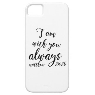 Matthew 28:20 barely there iPhone 5 case