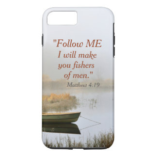 Matthew 4:19 Bible Verse Fishers of Men iPhone 8 Plus/7 Plus Case