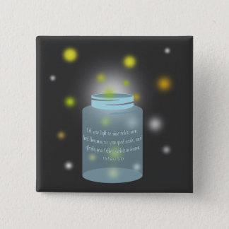 Matthew 5:16 Bible Verse Fireflies Button
