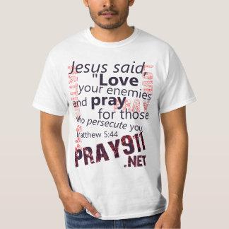 Matthew 5:44 (Value T-shirt) T-shirts