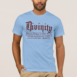 Matthew 7:1/2 T-Shirt