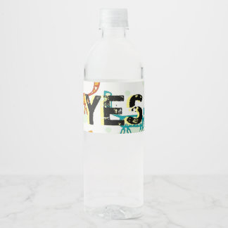 Matthew 8 : 20 ml water bottle label