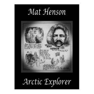 Matthew Henson ~ African-American Arctic Explorer~ Postcard