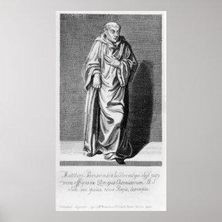 Matthew Paris, 1795 Poster